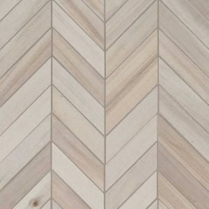 Havenwood Dove Chevron Mosaic 12x15